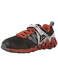 Reebok Kids Zig Big N' Fast Fire Alternate Closure Running Shoes
