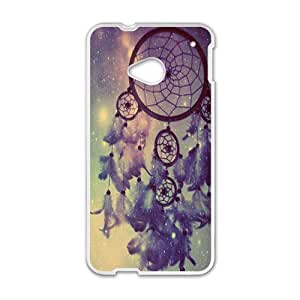 Sunrise Dreamcatcher Feather Mayan Aztec Tribal Phone high quality Case for HTC One M7
