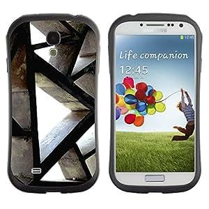 Suave TPU GEL Carcasa Funda Silicona Blando Estuche Caso de protección (para) Samsung Galaxy S4 I9500 / CECELL Phone case / / Building Architecture Polygon Engineering /
