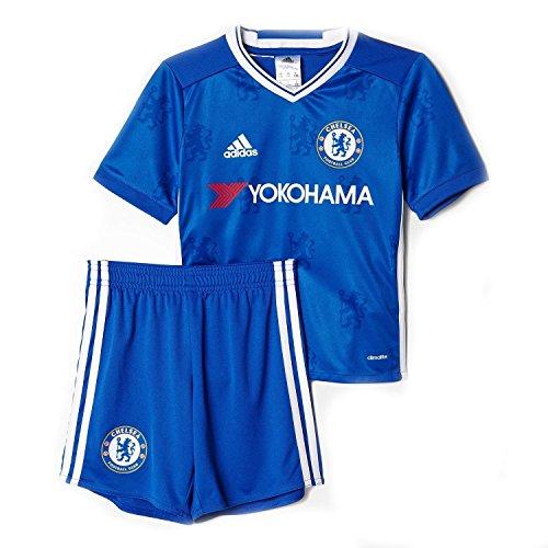 気になる夢日adidas Kid's Chelsea Home Mini Kit Set 2016/サッカーユニフォーム ミニキッズセット チェルシーFC ホーム用
