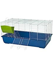 Flyline Bunny Hotel 100 Rabbit Guinea Pig Cage with Big Tray