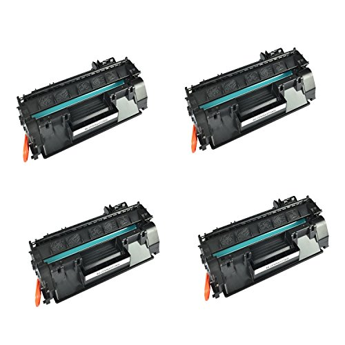 Generic 4 Pack CE505A (05A) Compatible Toner Cartridge For HP Laser Jet P2035, P2035n, P2055, P2055d, P2055dn, P2055x Printers