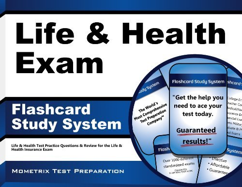Read Online By Life & Health Exam Secrets Test Prep Team Life & Health Exam Flashcard Study System: Life & Health Test Practice Questions & Review for the Li (Flc Crds/P) [Cards] ebook
