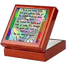 CafePress - Retired Nurse Poem - Keepsake Box, Finished Hardwood Jewelry Box, Velvet Lined Memento Box