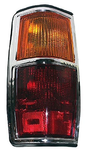- Driver Taillight Taillamp (with Chrome Trim) For 83 - 84 Nissan Pickup (720, 2wd only) NEW 2655910W00 NI2808103