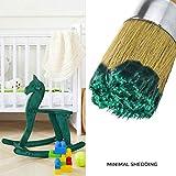 Round Paint and Wax Brush for Furniture | Premium