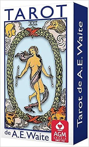 Tarot de A.E. Waite Pocket Blue Edition Spanish: Amazon.es ...