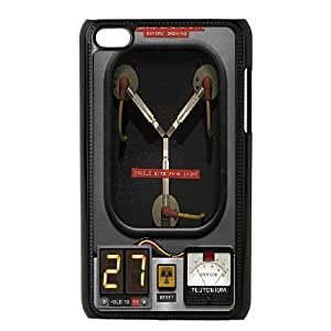 Unique Design Cases Gkjix Ipod Touch 4 Cell Phone Case Back To The Future flux capacitor Printed Cover Protector