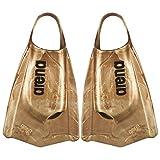 Arena Powerfin PRO Swim Training Fins, Gold, 4.5-5