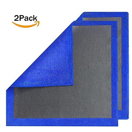 MAARYEE Clay Towel Clay Bar Cloth Fine Grade Automotive Wash Mitt Car Polishing Cleaner Detailing Clay (Pack of 2)