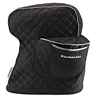 KitchenAid KSMCTIOB Fitted Stand Mixer Cover - Onyx Black
