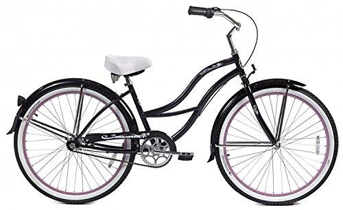 Micargi Bicycle Industries Tahiti 3-Speed Ride On, Black