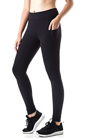 9d18a0cd42698 FIGUR Activ Women's Classic Sport Tight Compression For Yoga, Running,  Fitness