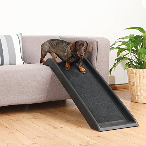 Safety 39'' Pet Stairs Dog Steps Ramp Cat Ladder Portable Step Folding Cover