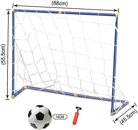 Portería de Fútbol Asamblea portátil simple Fútbol Objetivos Niños ...