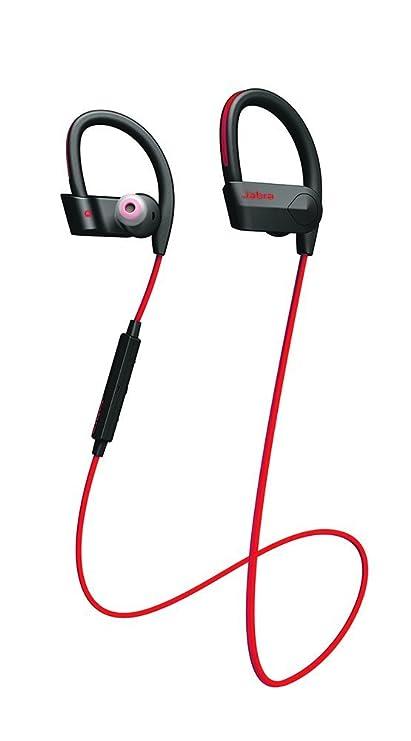 Jabra Sport Pace - Auriculares inalámbricos Bluetooth compatibles con Smartphones Android y iOS, color rojo