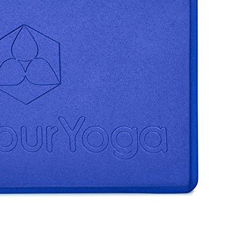 doyouryoga Mousse Rigide De Bloc Très Yoga Bleu En Aruna Légère rqPZvr