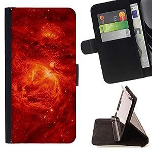 GIFT CHOICE / Teléfono Estuche protector Duro Cáscara Funda Cubierta Caso / Hard Case for Apple Iphone 6 Plus 5.5 // Red Sky Stars Galaxy //