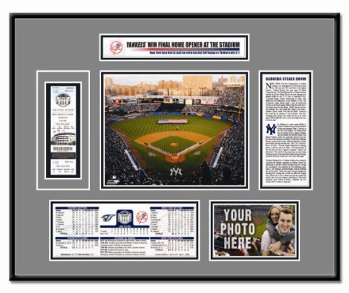 - That's My Ticket New York Yankees - Yankee Stadium 2008 Opening Day Ticket Frame