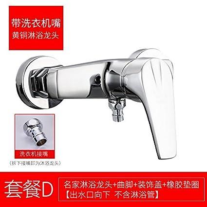 Porcelana Hui SunSuitriple cobre Grifo de ducha a ras del calentador de agua de la válvula