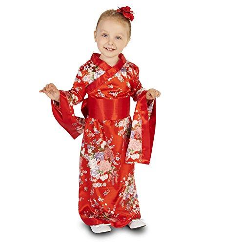 Kimono Toddler Costume 2-4T Red -