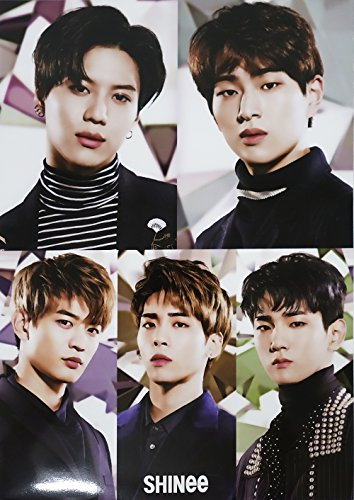 SHINee - 12 PHOTO POSTERS + STICKER SET A3 Size Bromide