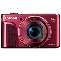 Canon PowerShot SX720 HS Digital Camera (Red) from 33rd Street Camera