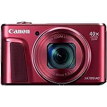 [Patrocinado] Canon PowerShot sx720HS–Cámara digital (Rojo)