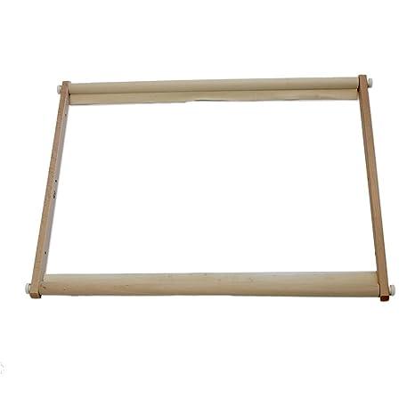 Inconnu Bastidor tambor para bordado de madera Tapiz y Punch Needle - 40x60 cm