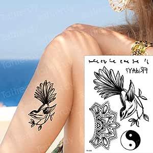 Handaxian 3pcsMagic Tatuaje del cráneo del Ancla de la Hoja ...