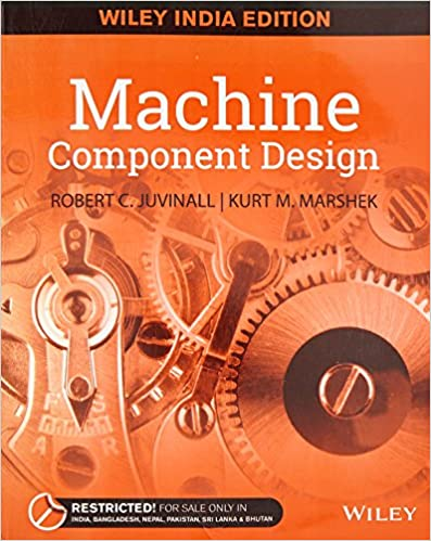 Machine Component Design 9788126559732 Robert