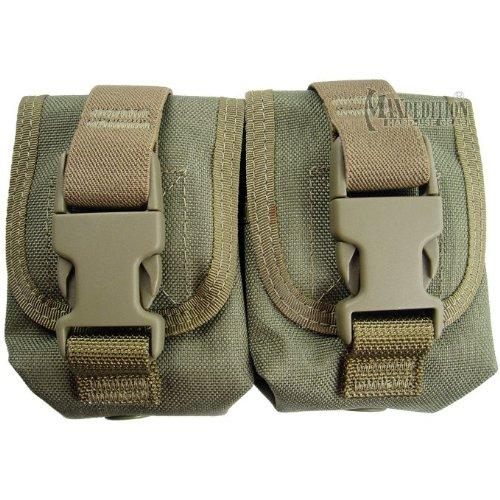 Maxpedition Double Frag Grenade Pouch (Khaki)