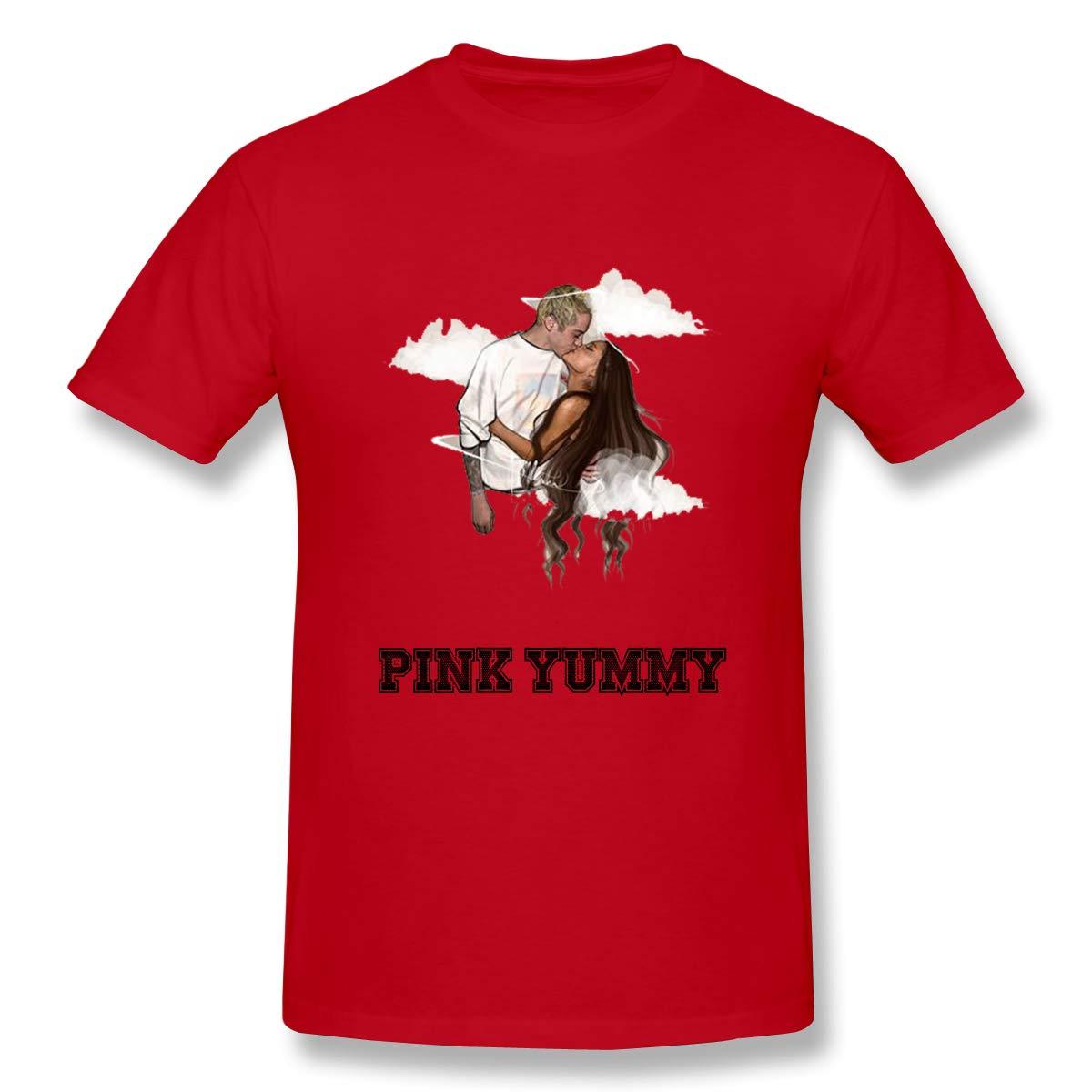 Pink Yummy Cute Shirt for Unisex of Ava M.ax//Ariana Gran.de//Hal.say Cartoon Sticker