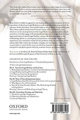 Naturalizing Jurisprudence: Essays on American Legal Realism ...