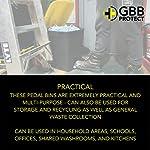Fabricado-en-la-UE–Cubo-de-basura-con-pedal-de-50-litros–Tapa-gris–para-basura-oficina-y-hogar-lavanderia-y-cocina-uso-escolar-y-comercial-y-hogar-y-reciclaje–contenedor-de-basura