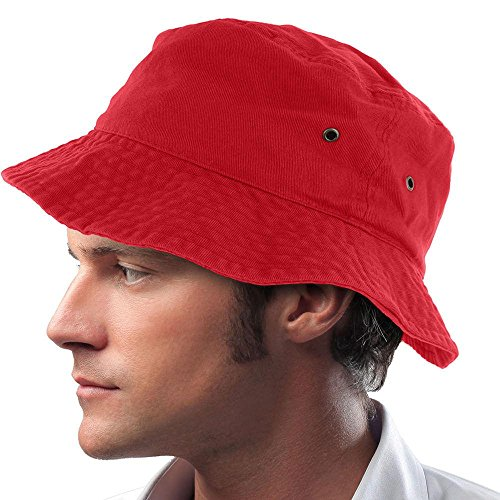 Hugo Ball Costume (Red_(US Seller) Hunting Fishing Outdoor Cap Hat visor Summer Camping)
