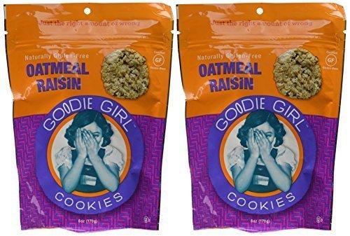 Crispy Oatmeal Raisin Cookie - Gluten Free by Goodie Girl Cookies (Infant Girl Raisin)