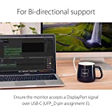 Moshi USB C to DisplayPort Cable 1.5m/5ft, Support