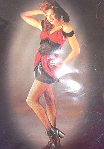 Dance Hall Girl Costume (Wild Wild West Dance Hall Girl Adult Costume 12-14 NIP)