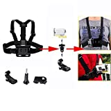 Neomark for Sony Action Cam Elastic Chest Mount Harness Band Strap Belt With Adapter HDR-AS100v AS30V AEE AS15 AS30 SJ1000 Sports Action Cam