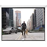 ARKSEN 100 4:3 Manual Pull Down Projector Screen Projection Home Movie Theater, 80x60