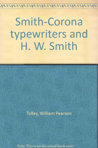 Smith-Corona typewriters and H. W. Smith, used for sale  Delivered anywhere in USA