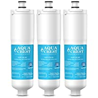 AQUACREST CS-52 Replacement Refrigerator Water Filter, Compatible with 3M Cuno CS-52, CS-51 (Pack of 3)