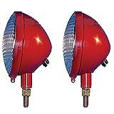 61225DB 12 Volt Headlight Set Fits Farmall Cub A B C H M Super 140 300 W9