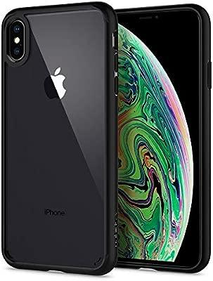 Spigen Ultra Hybrid Funda iPhone XS MAX con Tecnología de cojín de Aire y protección híbrida de la Gota para iPhone XS MAX 6.5