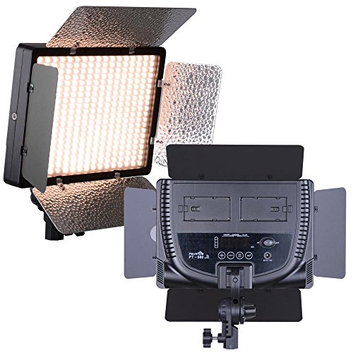 AW Pro 680pcs Photography LED 20W Light 3200-5600K Photo Video Studio Portrait Lighting Dimmer by AW
