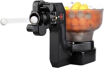 YUEWO Máquina Automática de Pelota de Ping Pong Tenis de Mesa Robot 36 Diferentes Bolas giratorias con 100 Unidades Pelotas Ideal para Principiantes Y Jugadores De Nivel Avanzado: Amazon.es: Deportes y aire