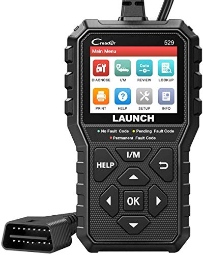 LAUNCH OBD2 Scanner -CR529 Enhanced Universal Car Code Reader Auto Diagnostic Scan Tool with Full OBDII Functions DTC Lookup Check Engine Light for All OBDII Car After 1996[Upgrade Version]