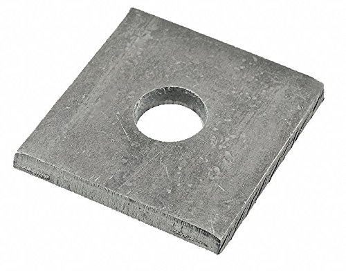 Rivet Washer,Zinc,Sq,3/16 x 1/2 In,PK500 by FABORY