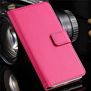 New!!! Vintage Genuine Real Leather Case For iphone 6 Plus 5.5'' Vertical Flip SKin Cover Bags Open Card for iphone6 YXF04348 --- Color:Black